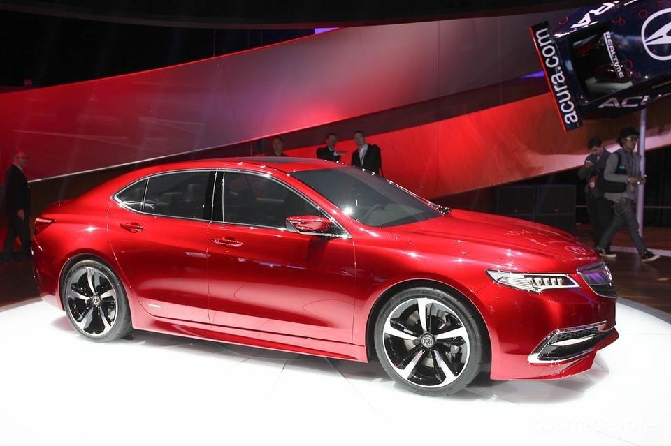 2015 Acura Tlx Prototype 2014 Detroit Auto Show Live Photos | 2016 Car ...