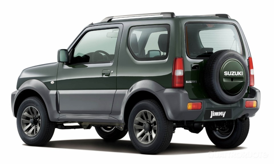 suzuki jimny 2015 2014 quattroruote. Black Bedroom Furniture Sets. Home Design Ideas