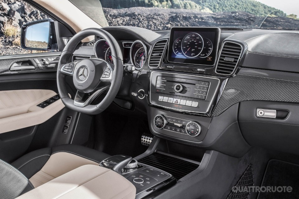 Mercedes benz gle 450 amg coup 2014 quattroruote for 2014 mercedes benz gle 350