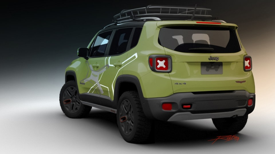 Jeep Renegade Trailhawk Lifted 2015 Jeep Renegade Lifted