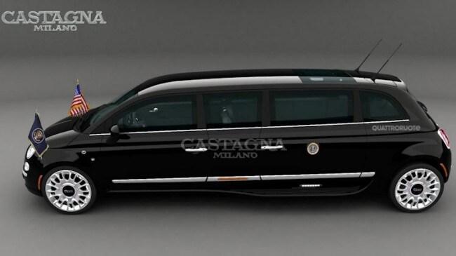 Castagna 500 Limousine Una Citycar Presidenziale