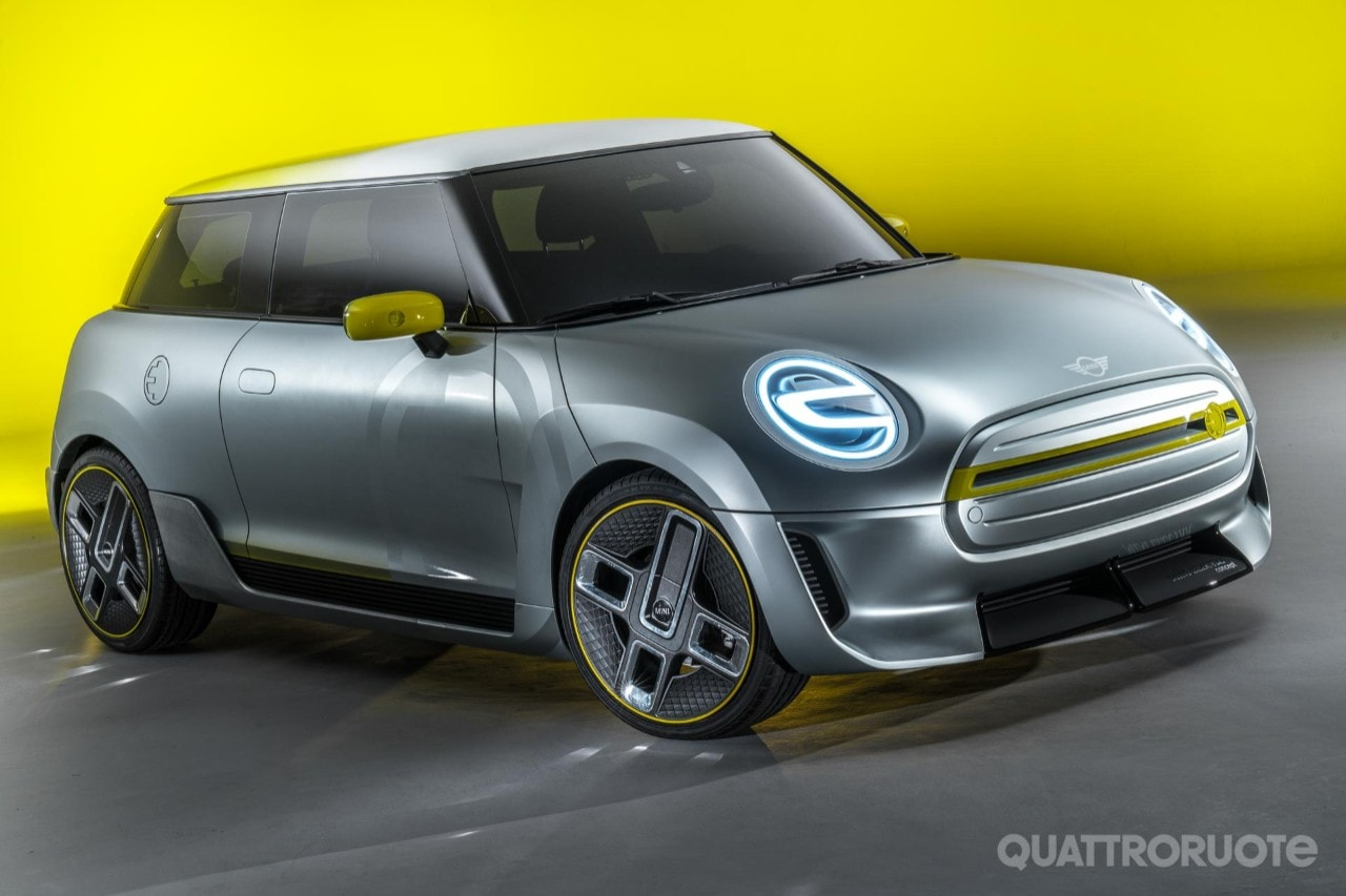 Mini electric concept anticipa la variante elettrica del for Porsche design ufficio stampa