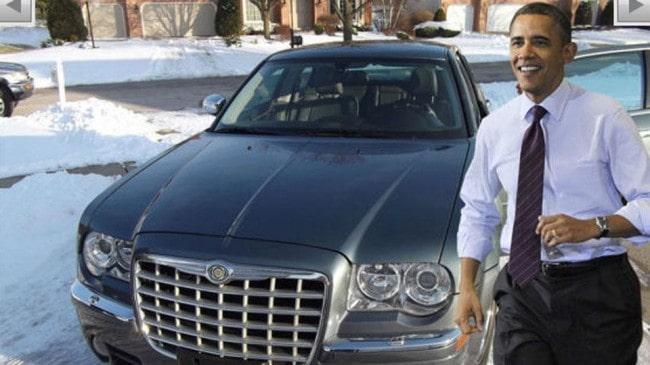 Chrysler 300C All'asta l'auto di Barack Obama