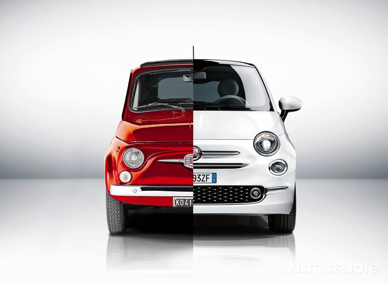 Buon compleanno Fiat 500 - Nata il 4 luglio: 60 immagini per 60 candeline