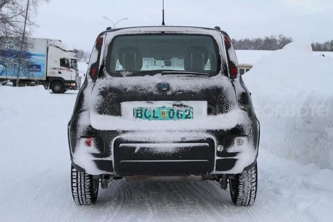 Fiat panda 4x4 ecco le prime immagini quattroruote for Immagini panda 4x4