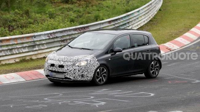 Opel Corsa Nuovo restyling per il 2014