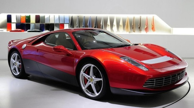 Ferrari SP12 EC La one-off di Eric Clapton