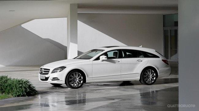 Mercedes benz cls shooting brake la station coup va in for Mercedes benz cls station wagon
