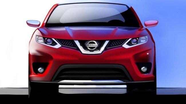Nissan qashqai dettagli e sketch del nuovo design for Nuovo design del paesaggio inghilterra