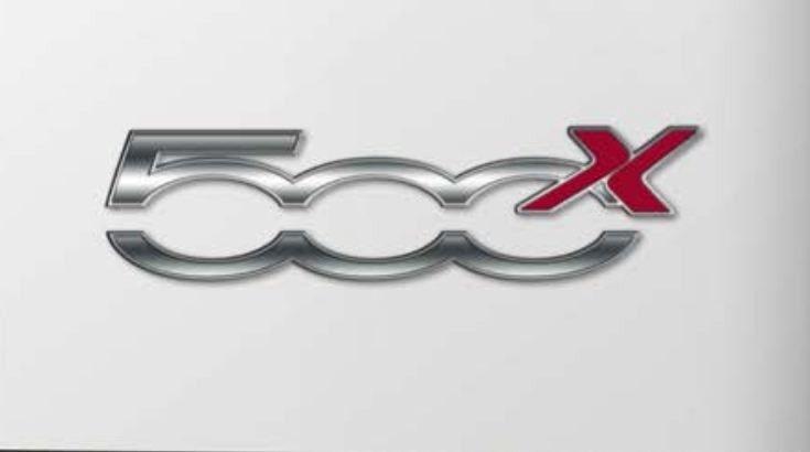 fiat 500x scocca e logo nelle slide delle presentazioni quattroruote. Black Bedroom Furniture Sets. Home Design Ideas