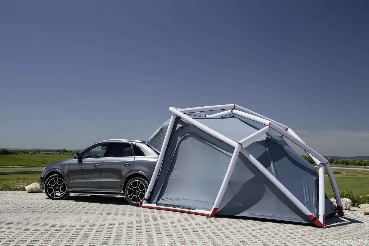 Cool Discussione Audi Q3 Camping Tent Foto Ufficiali