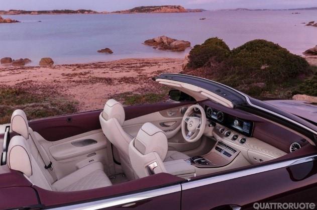 Mercedes Classe E Cabriolet: prime fotografie e informazioni