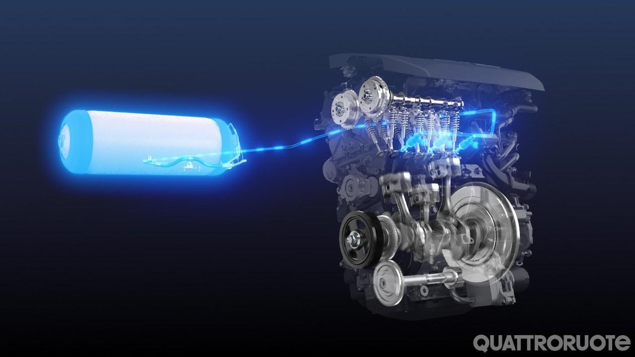 Toyota - Al via lo sviluppo di un tre cilindri a idrogeno - VIDEO