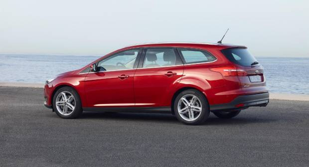 Ford Focus Wagon restyling (2014)