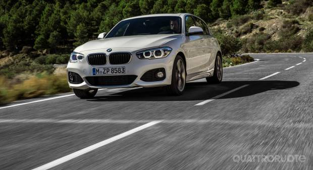 BMW Serie 1 restyling (2015)
