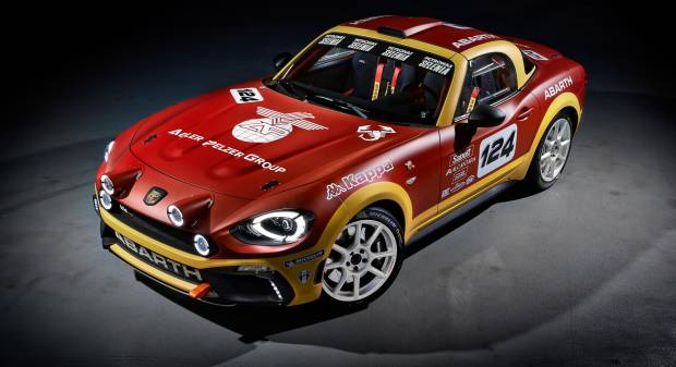 Abarth 124 Rally (2016)