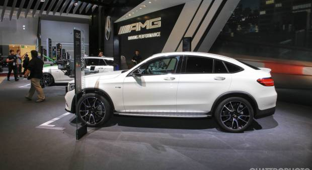 Mercedes AMG GLC 43 Coupé - LIVE