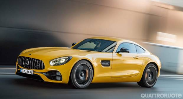 Mercedes-AMG GT S (2017)
