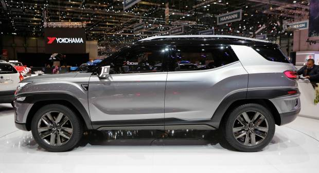 SsangYong XALV Concept (2017) - FOTO LIVE