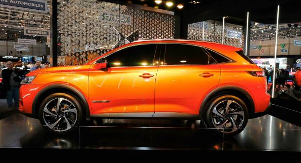 DS7 Crossback (2017) - FOTO LIVE