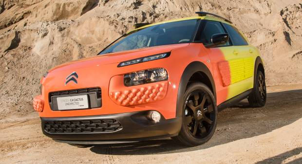 Citroën C4 Cactus Unexpected by Gufram (2017)