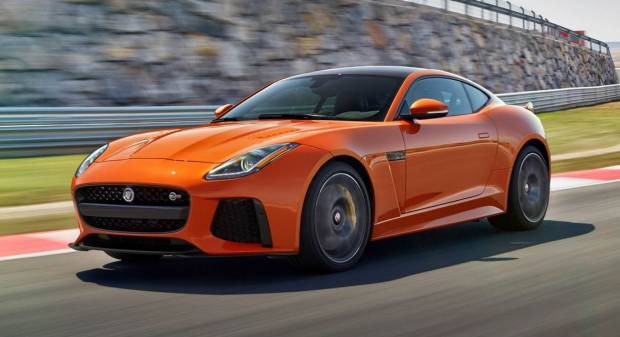 Jaguar F-type SVR (2017)