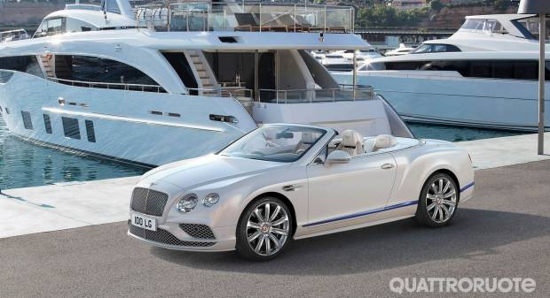 Bentley Continental GT Convertible Galene Edition (2017)