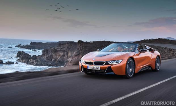 BMW i8 Coupé e Roadster (2017)