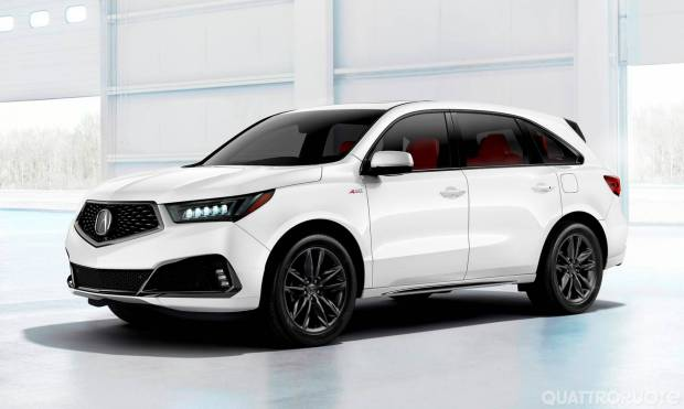Acura MDX A-Spec (2018)