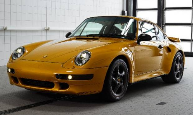 Porsche 911 Turbo 993 Project Gold (2018)
