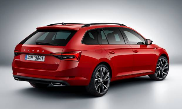 Skoda Superb Wagon (2019)