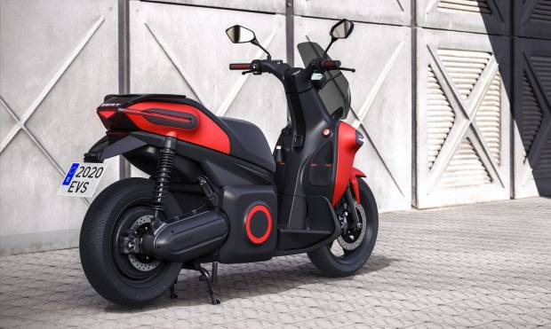 Seat e-Scooter Concept (2019)