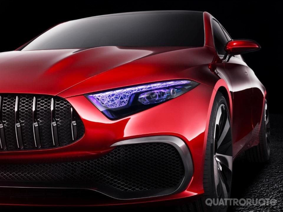 Mercedes-Benz Concept A Sedan: una berlina dal look grintoso