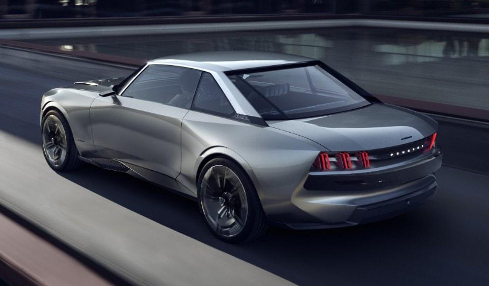 Peugeot E Legend Elettrica E Autonoma Con Linee Retro