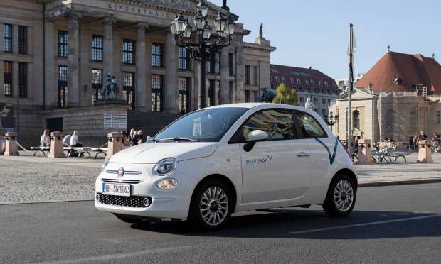 Share Now - Germania, la Fiat 500 entra nel car sharing di BMW e Daimler