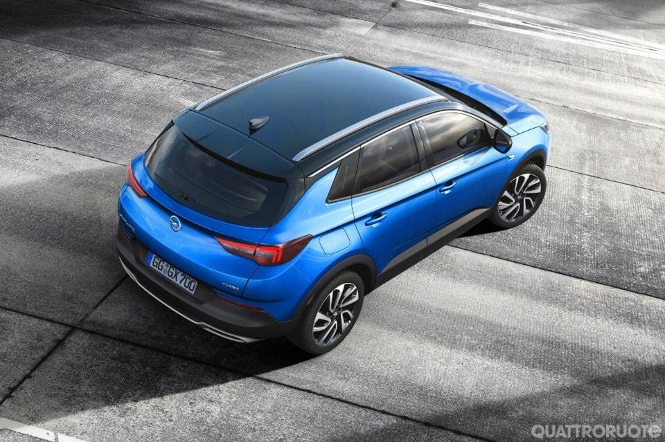 Opel, debutterà a salone Francoforte nuovo suv Grandland X