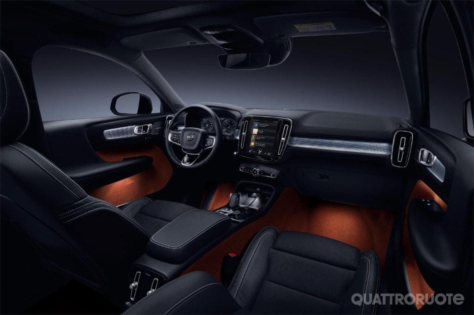 Volvo XC40: prime fotografie e informazioni ufficiali