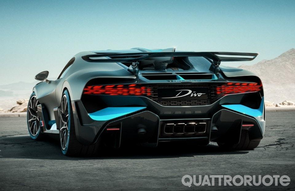 Bugatti divo l 39 hypercar da 5 milioni debutta in california - Howard divo del passato ...