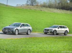 Prova su strada E 220 d All Terrain vs V90 Cross Country - VIDEO